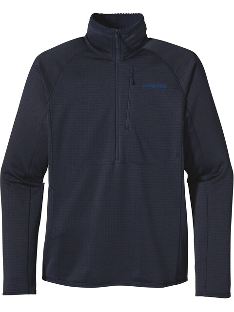 Patagonia M's R1 Pullover Navy Blue W/Navy Blue